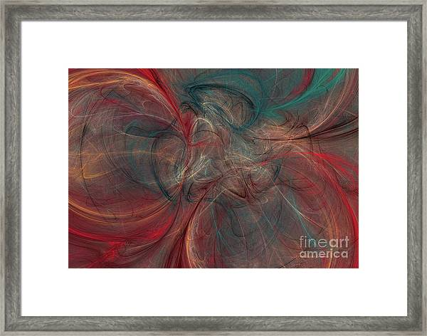 Abstract Chaotica 10 Framed Print