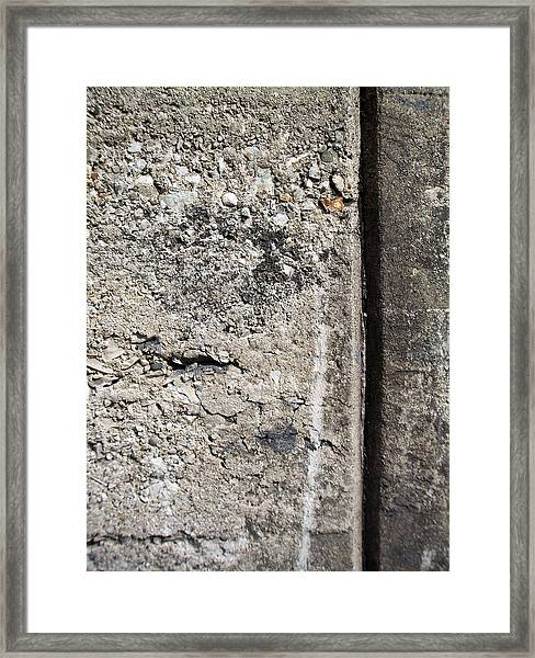 Abstract Concrete 16 Framed Print