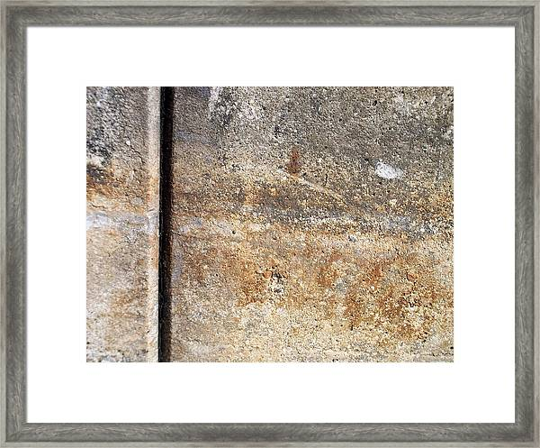 Abstract Concrete 17 Framed Print