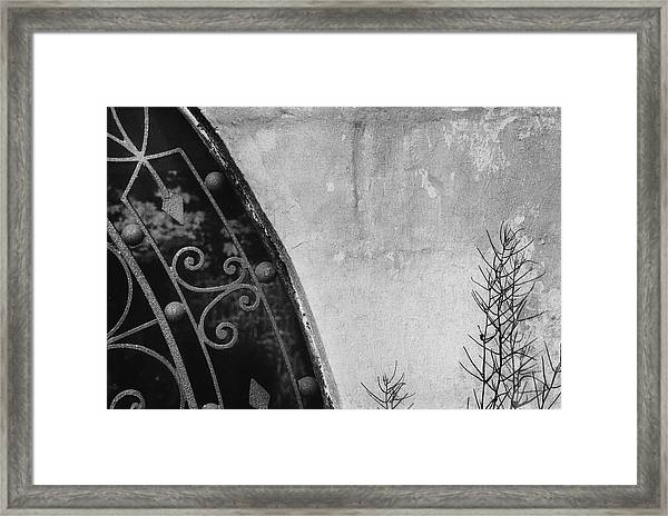 Abstract Detail Framed Print