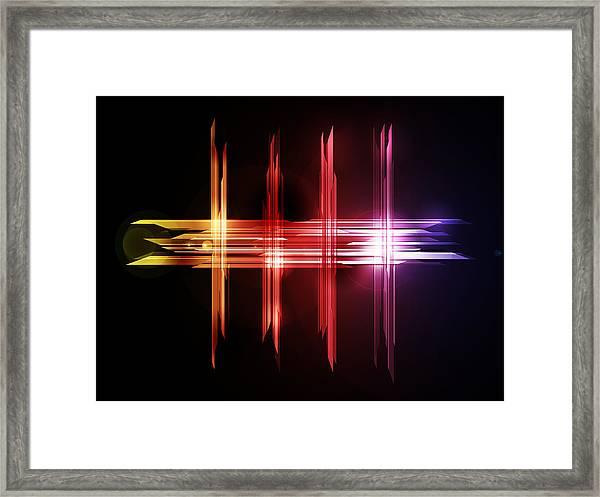 Abstract Five Framed Print