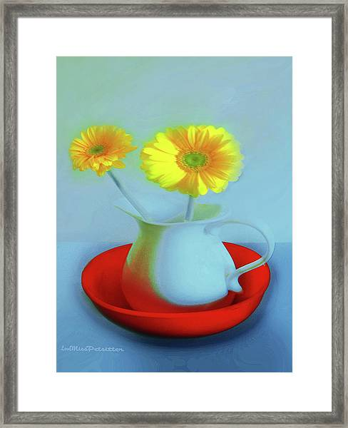 Abstract Floral Art 268 Framed Print