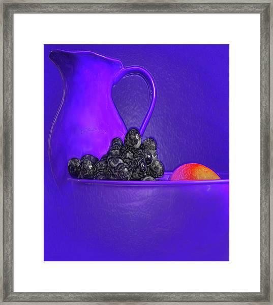 Abstract Fruit Art 53 Framed Print
