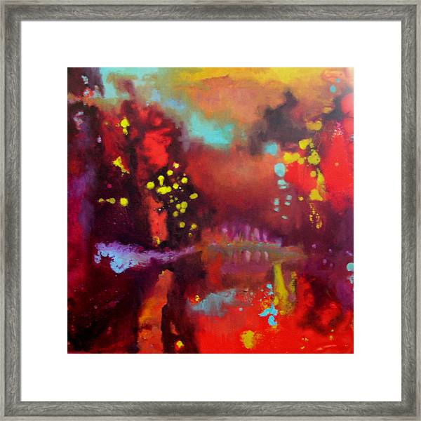 Abstract II Framed Print by Valerie Aune