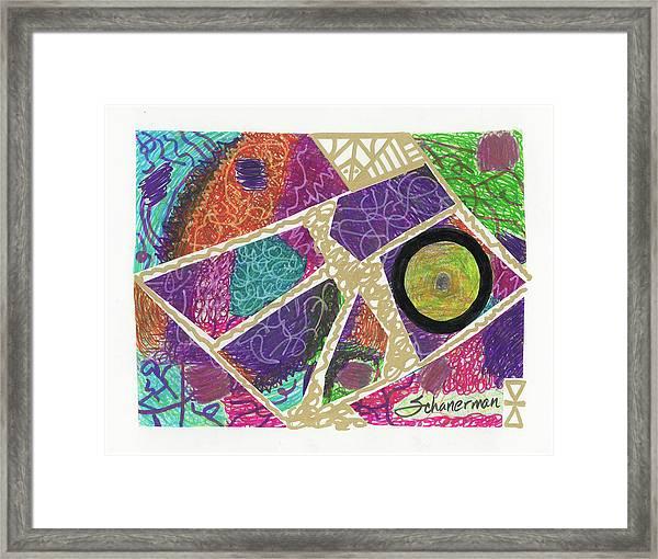 Puzzle Jungle Framed Print
