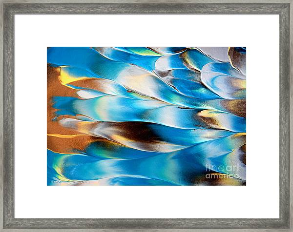 Abstract L1015al Framed Print