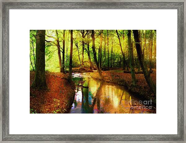 Abstract Landscape 0747 Framed Print