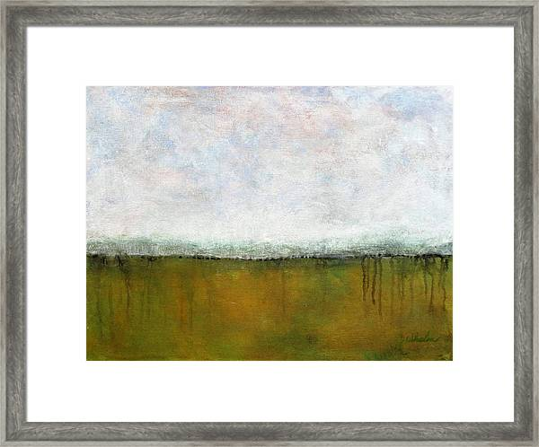 Abstract Landscape #311 Framed Print