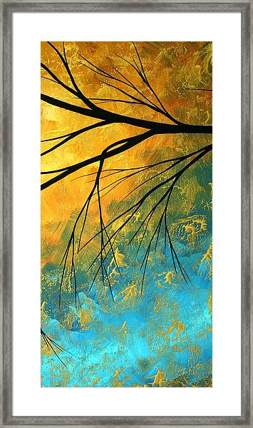 Abstract Landscape Art Passing Beauty 2 Of 5 Framed Print