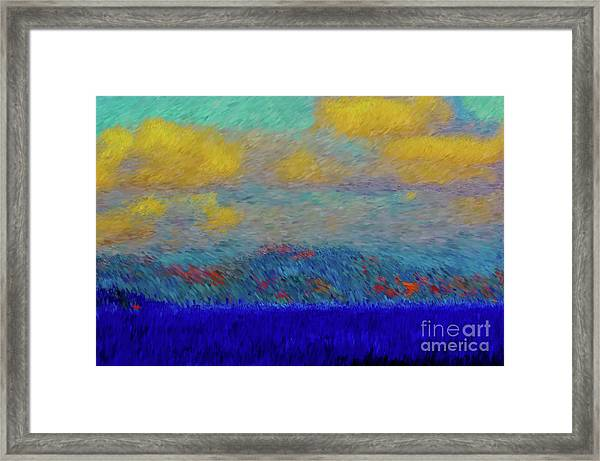 Abstract Landscape Expressions Framed Print