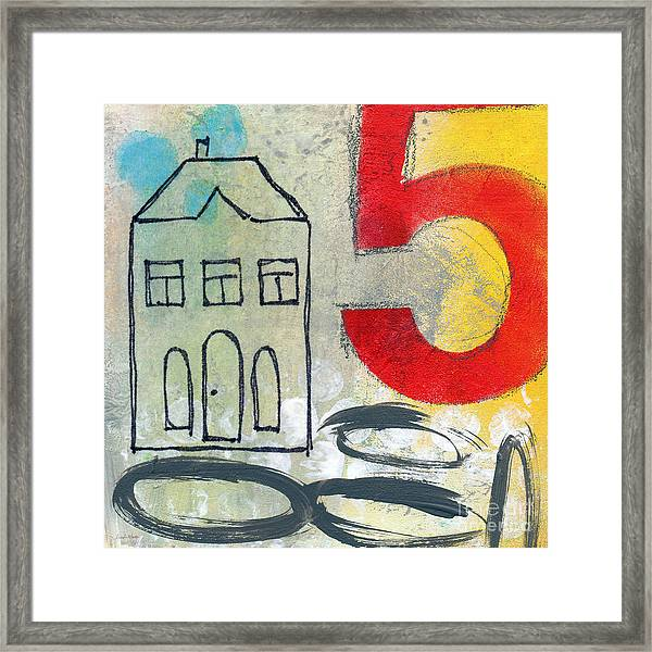 Abstract Landscape Framed Print