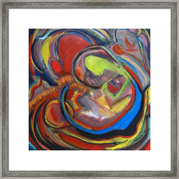 Abstract Life Framed Print