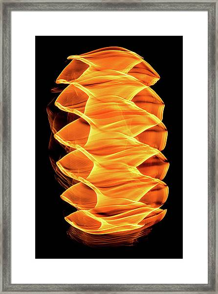 Abstract Light Number 2 Framed Print