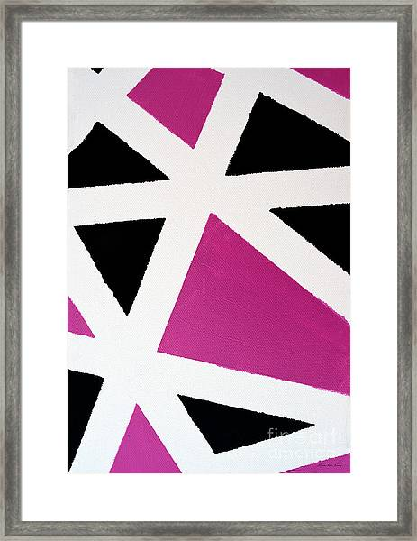 Abstract M1015bp Framed Print
