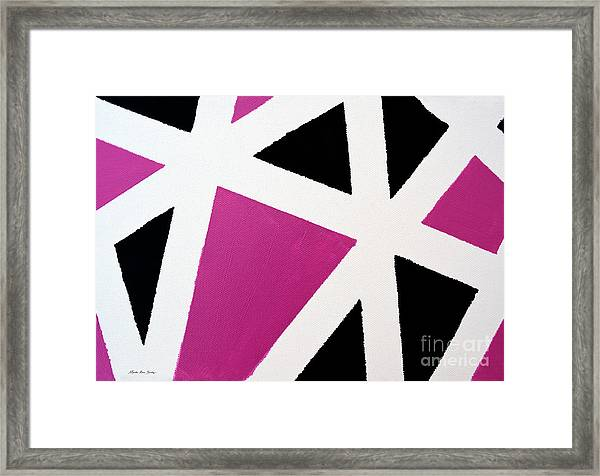 Abstract M1015l Framed Print