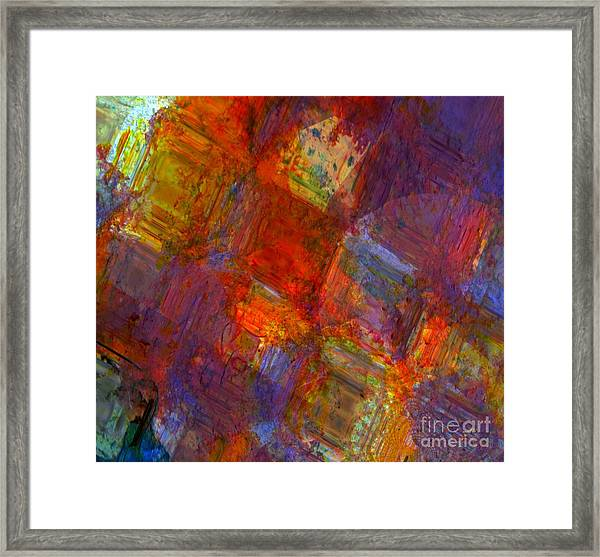 Abstract Moments Framed Print by Fania Simon