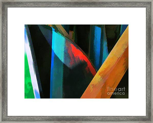 Abstract No. Twenty Four Framed Print by Tom Griffithe