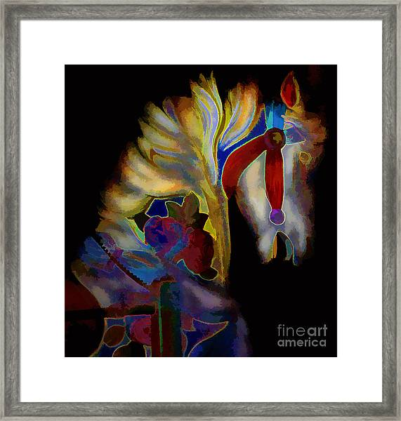 Abstract No. Twenty Three Framed Print by Tom Griffithe