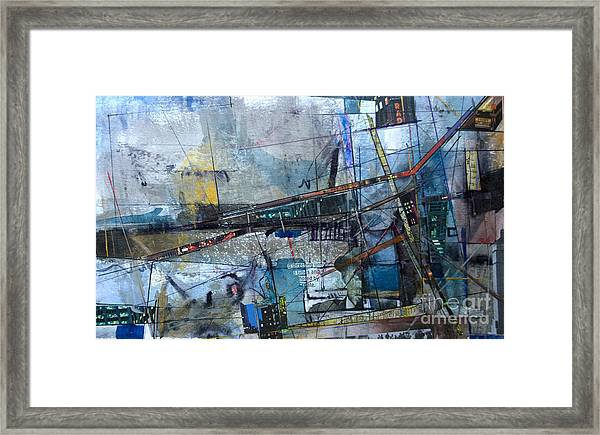 Abstract Nyc #2 Framed Print