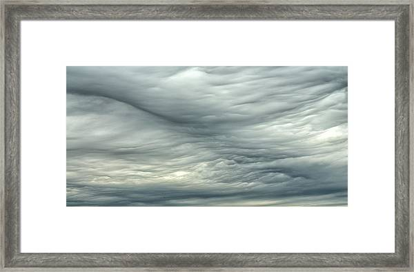 Abstract Of The Clouds 2 Framed Print