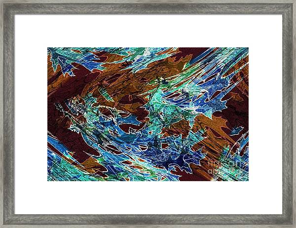 Abstract Pattern 6 Framed Print
