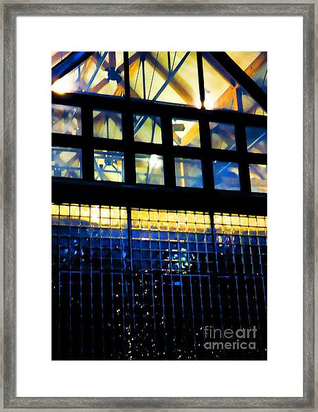 Abstract Reflections Digital Art #5 Framed Print