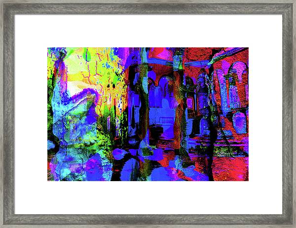 Abstract Series 0177 Framed Print