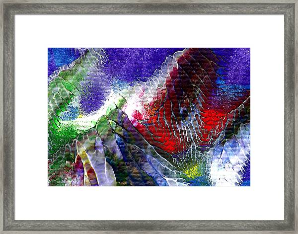Abstract Series 0615a-3 Framed Print