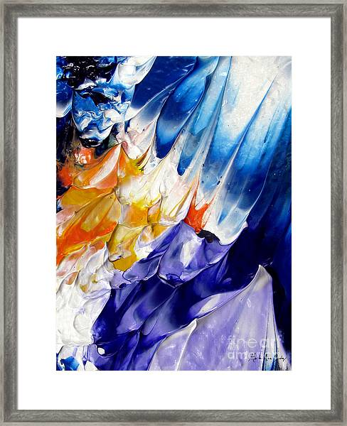 Abstract Series 0615a-6p1 Framed Print