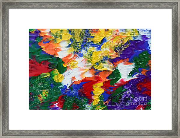 Abstract Series A1015ap Framed Print