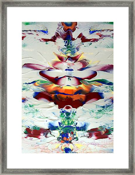 Abstract Series H1015al Framed Print