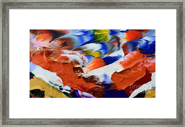 Abstract Series N1015al  Framed Print