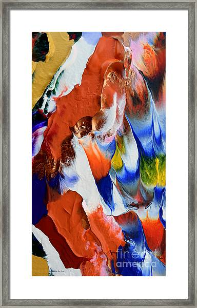 Abstract Series N1015bp Copy Framed Print