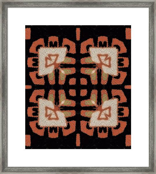 Abstract Susan Framed Print