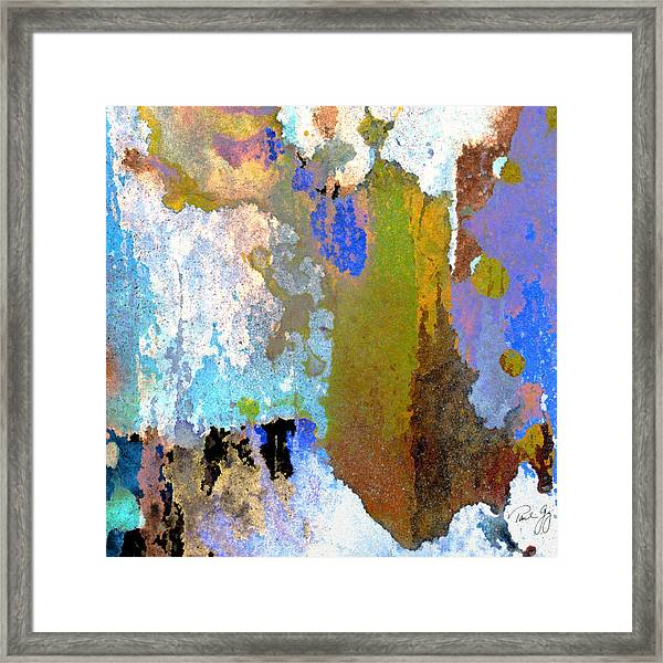 Abstract Wash 1 Framed Print