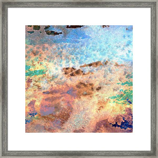 Abstract Wash 2 Framed Print
