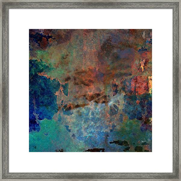 Abstract Wash 3 Framed Print