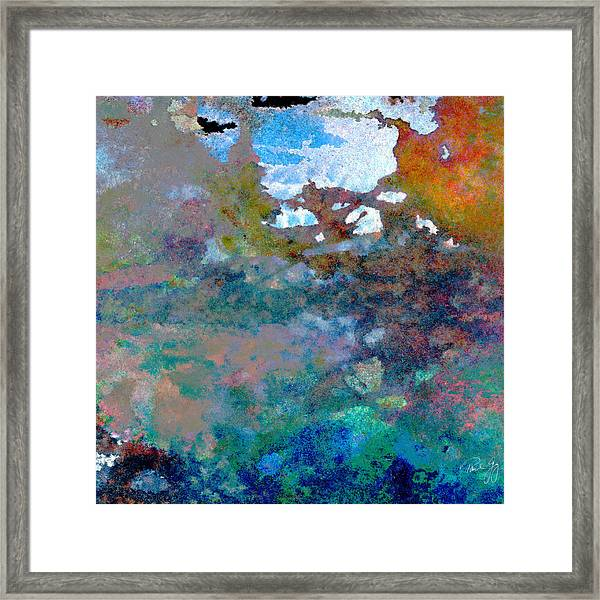 Abstract Wash 6 Framed Print