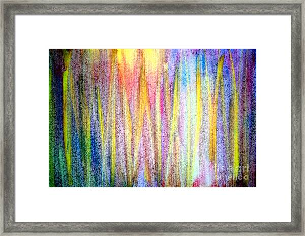Abstract Watercolor A2 1216 Framed Print