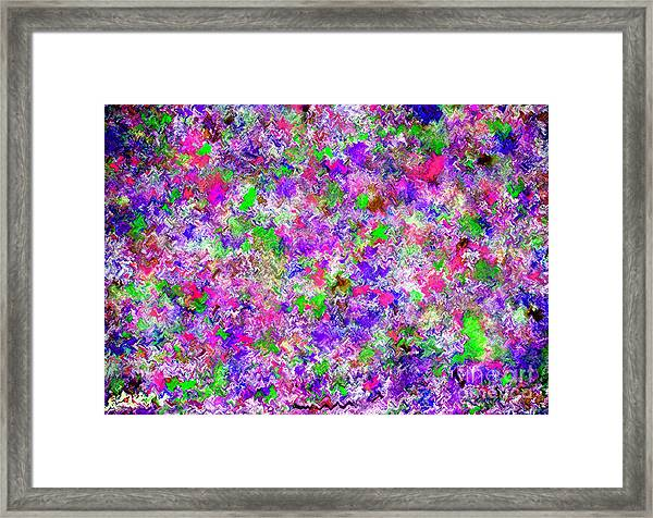 Framed Print featuring the painting Abstract Watercolor A22416 by Mas Art Studio