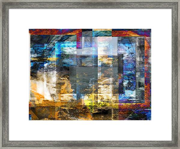Abstract Wave .. Framed Print