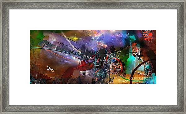 Abstract Week 1 Framed Print
