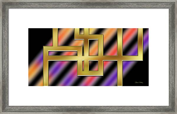 Abstraction 8 Framed Print