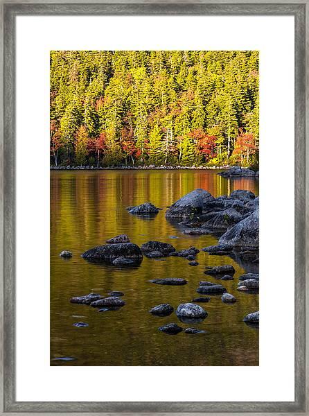 Acadian Glow Framed Print