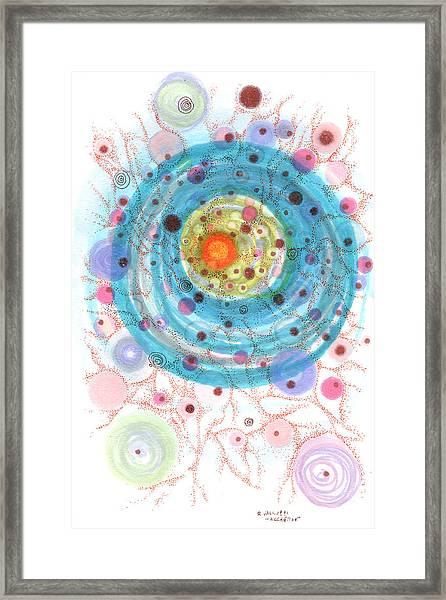 Accretion Framed Print