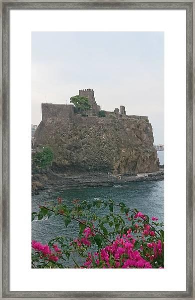 Acicastello, Catania, Sicily Framed Print