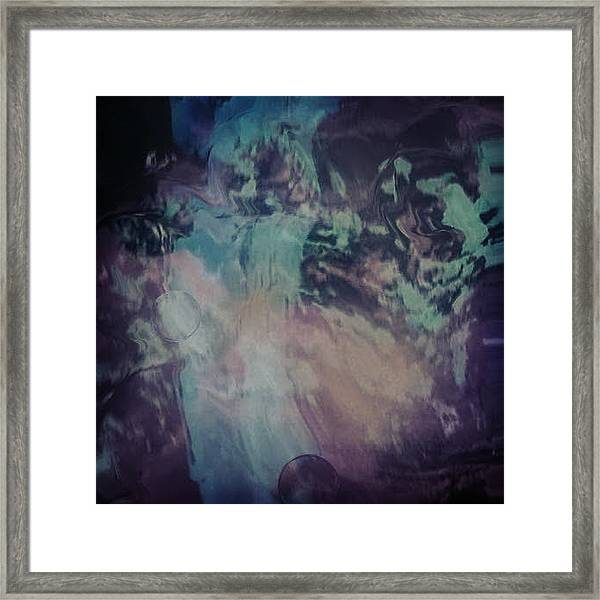 Acid Wash Framed Print