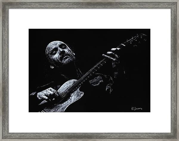 Acoustic Serenade Framed Print