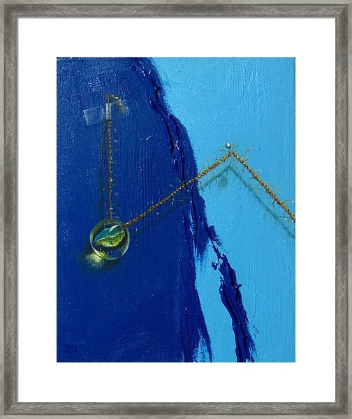 Acrobatics Number Two Framed Print