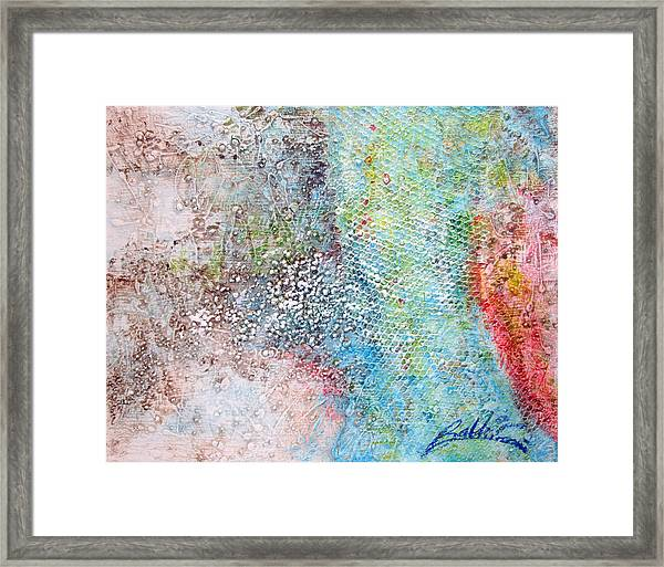 Abstract 201108 Framed Print